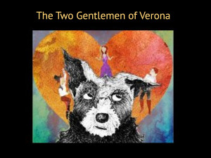 The Two Gentlemen of Verona at Old Globe San Diego