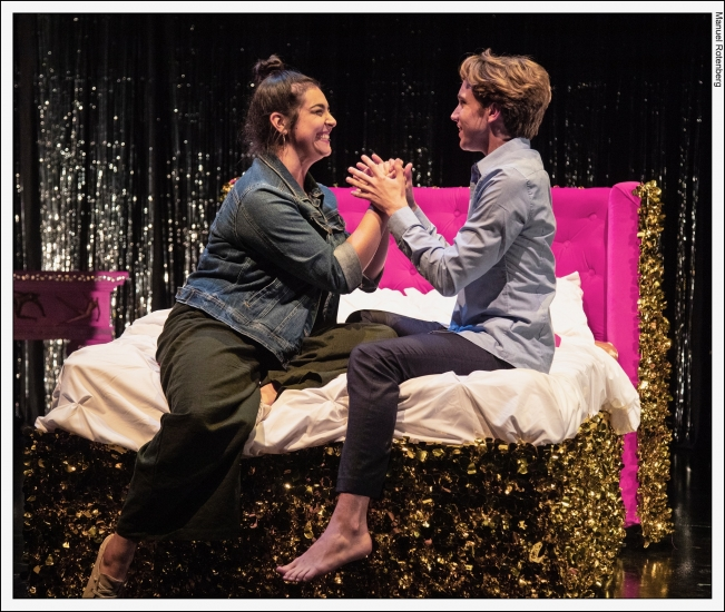 Shame Spiral, UC San Diego's Wagner New Play Festival 2019, Photo by Manny Rotenberg