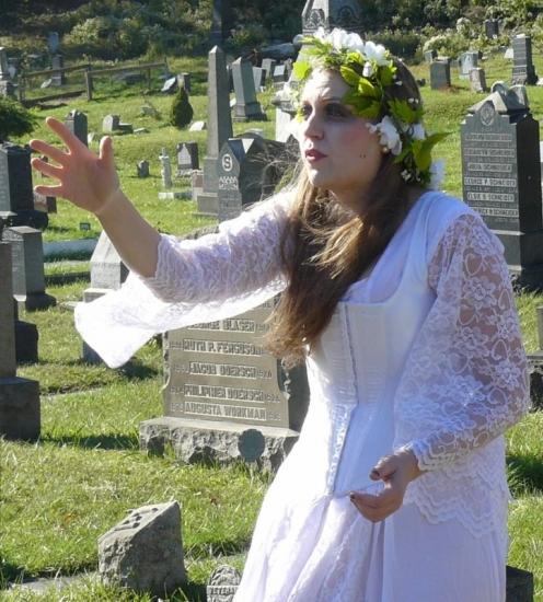 Ophelia, Infernal Kingdom, Hudson Shakespeare Company 2014